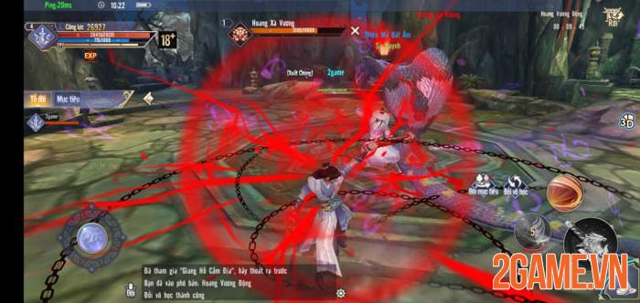 Cửu Âm Chân Kinh Gosu - Game mobile chuẩn PC chính thức ra mắt 2