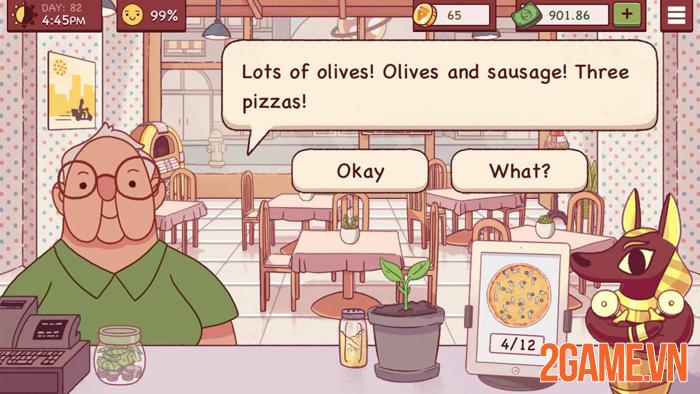 Good pizza great pizza - Học cách xây dựng thương hiệu qua game 0