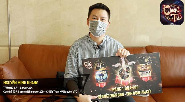 Chiến Thần Kỷ Nguyên VTC – Bị lừa acc, chấp sang server mới, Trường Ca – đại gia Sài Thành vẫn TOP 1 Lực Chiến