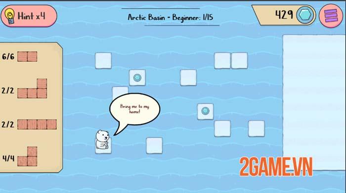 Polar Bear Rescue - Game mobile siêu trí tuệ với nhiều thử thách gây nghiện 0