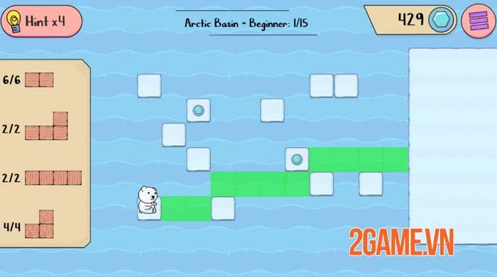 Polar Bear Rescue - Game mobile siêu trí tuệ với nhiều thử thách gây nghiện 1