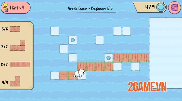 Polar Bear Rescue - Game mobile siêu trí tuệ với nhiều thử thách gây nghiện 3