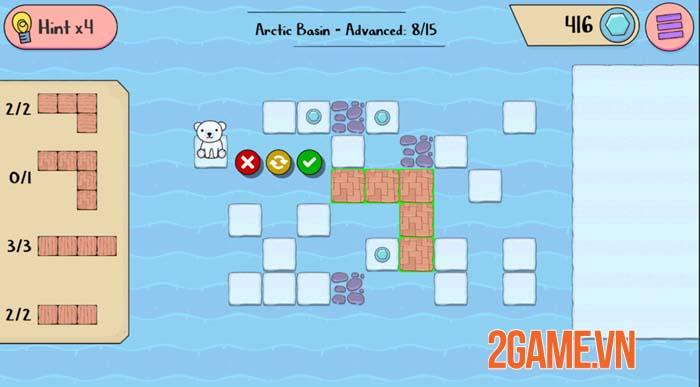 Polar Bear Rescue - Game mobile siêu trí tuệ với nhiều thử thách gây nghiện 4