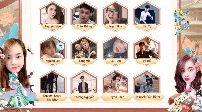 Game Phong Khởi Trường An được hàng loạt Hot Streamer, Hot Face Việt đổ bộ