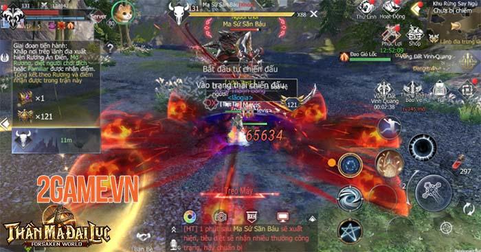 Forsaken World: Thần Ma Đại Lục - Khám phá 9 hoạt động liên server đỉnh cao 6