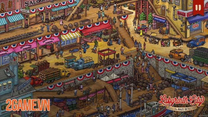 Labyrinth City: Pierre the Maze Detective - Game giải đố thú vị trên mobile 0