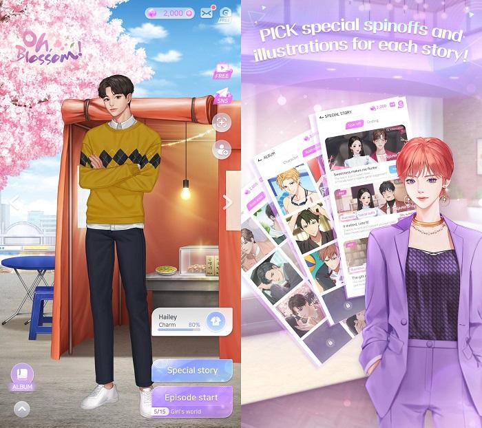 Storypick - Game manga ngôn tình tự lựa chọn cốt truyện mới lạ 3