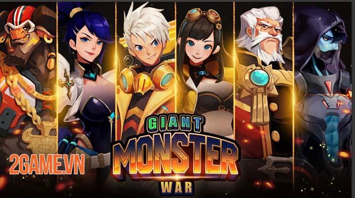 Giant Monster War - Dẫn dắt các Titan khám phá thế giới rộng lớn 0