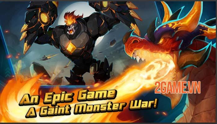 Giant Monster War - Dẫn dắt các Titan khám phá thế giới rộng lớn 1