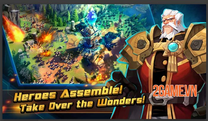 Giant Monster War - Dẫn dắt các Titan khám phá thế giới rộng lớn 2