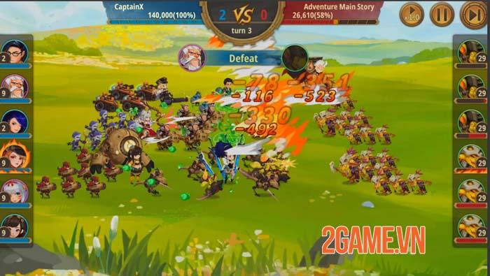 Giant Monster War - Dẫn dắt các Titan khám phá thế giới rộng lớn 6