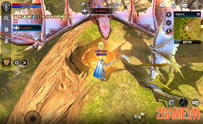 Kingdom: The Blood Pledge - Game nhập vai thần thoại hấp dẫn trong Hè 1