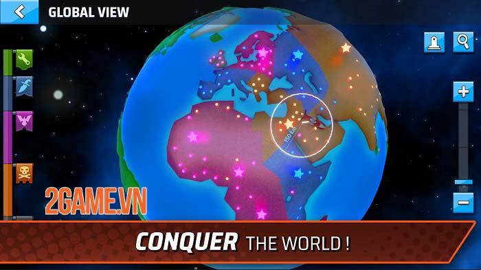 StormWorld: Airship League - Thách thức các phe phái khác để kiểm soát StormWorld 2