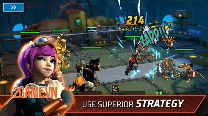 StormWorld: Airship League - Thách thức các phe phái khác để kiểm soát StormWorld 4