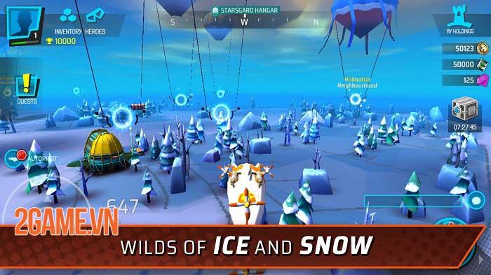 StormWorld: Airship League - Thách thức các phe phái khác để kiểm soát StormWorld 6