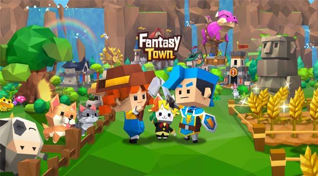 Garena Fantasy Town – Game mô phỏng thể hiện nét đẹp lao động