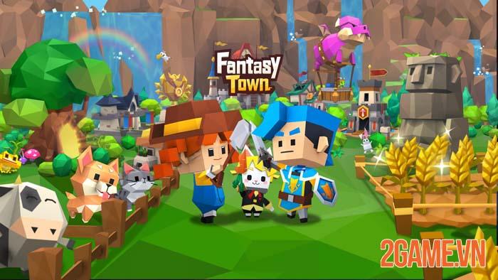 Garena Fantasy Town - Game mô phỏng thể hiện nét đẹp lao động 2