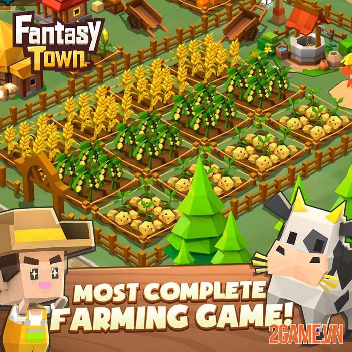 Garena Fantasy Town - Game mô phỏng thể hiện nét đẹp lao động 1