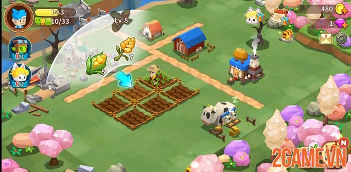 Garena Fantasy Town - Game mô phỏng thể hiện nét đẹp lao động 0