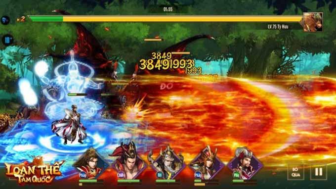 Loạn Thế Tam Quốc mở server đặc biệt Trương Tinh Thái cán mốc 666.666 lượt tải 3