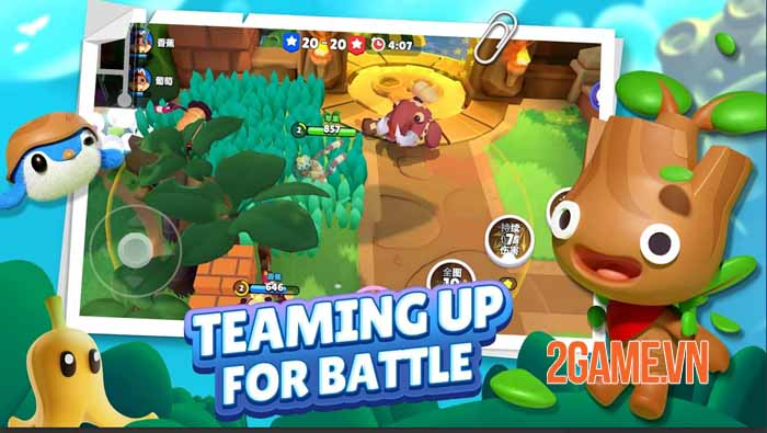 C3plus - Game hành động co-op 3v3 sinh tồn và cạnh tranh siêu đáng yêu 2