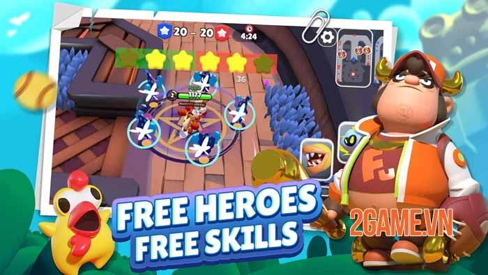 C3plus - Game hành động co-op 3v3 sinh tồn và cạnh tranh siêu đáng yêu 3