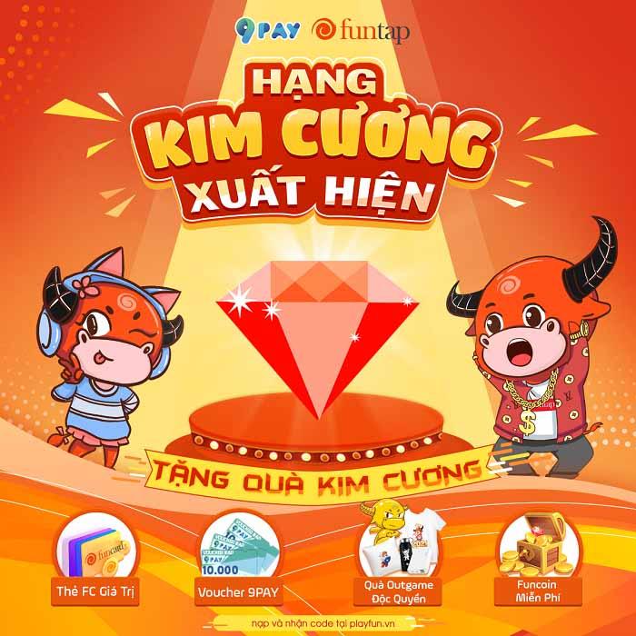 """Cộng đồng game thủ Việt """"thỏa mãn"""" với sự kiện Sinh nhật Kim Cương - Funtap 0"""