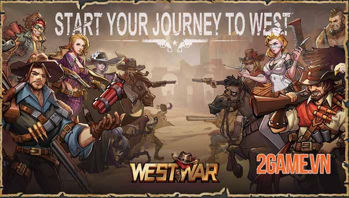 West War - Game chiến thuật xây dựng miền viễn Tây, chiến đấu với zombie 0