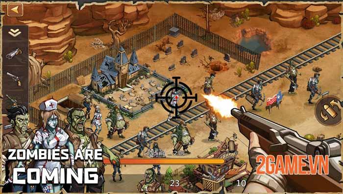 West War - Game chiến thuật xây dựng miền viễn Tây, chiến đấu với zombie 1