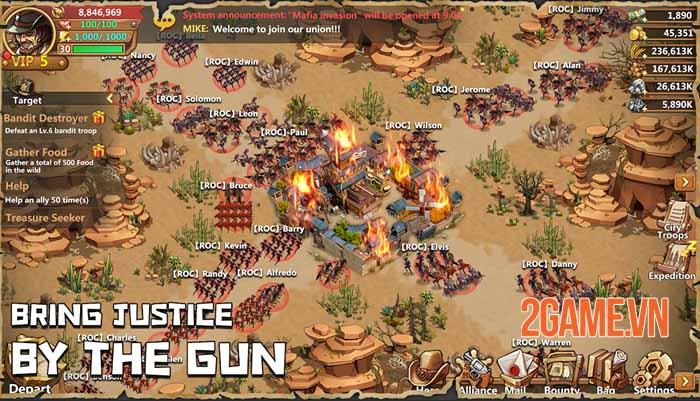 West War - Game chiến thuật xây dựng miền viễn Tây, chiến đấu với zombie 2