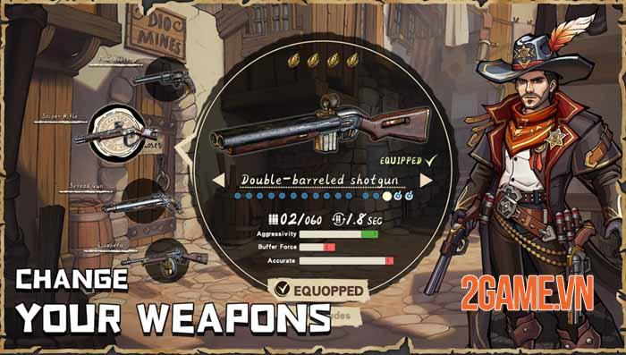 West War - Game chiến thuật xây dựng miền viễn Tây, chiến đấu với zombie 4