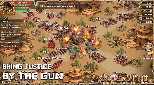 West War – Game chiến thuật xây dựng miền viễn Tây, chiến đấu với zombie