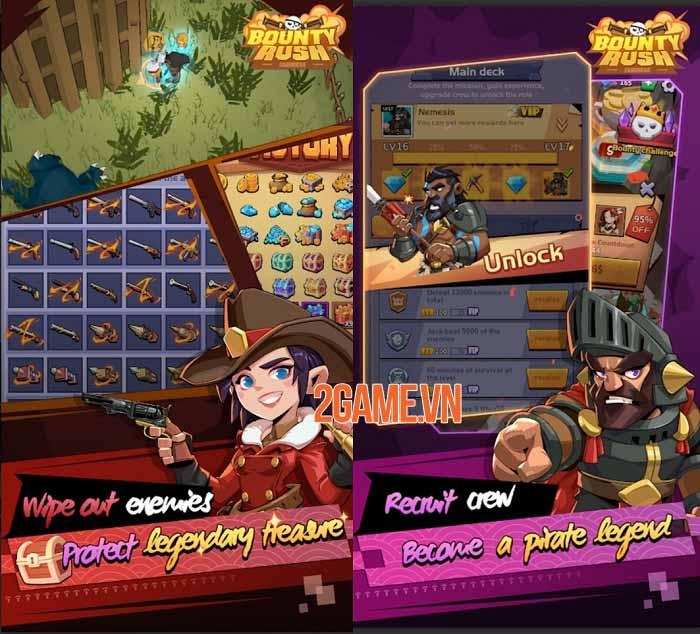 Bounty Rush : Caribbean - Trở thành bất cứ ai trong thế giới cướp biển huyền thoại 1