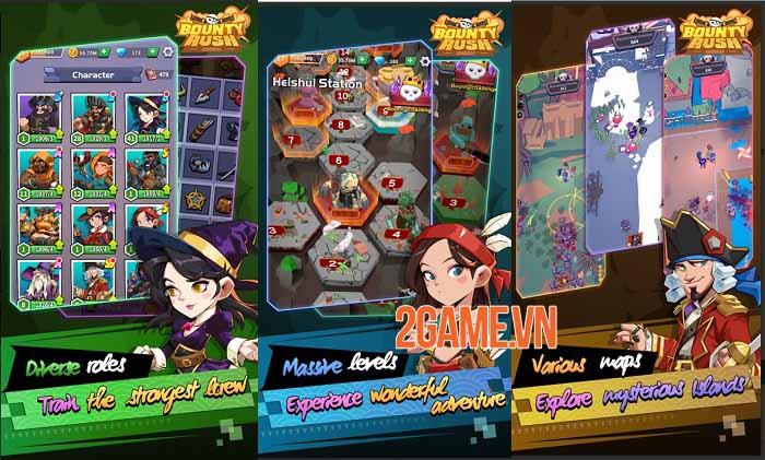 Bounty Rush : Caribbean - Trở thành bất cứ ai trong thế giới cướp biển huyền thoại 2