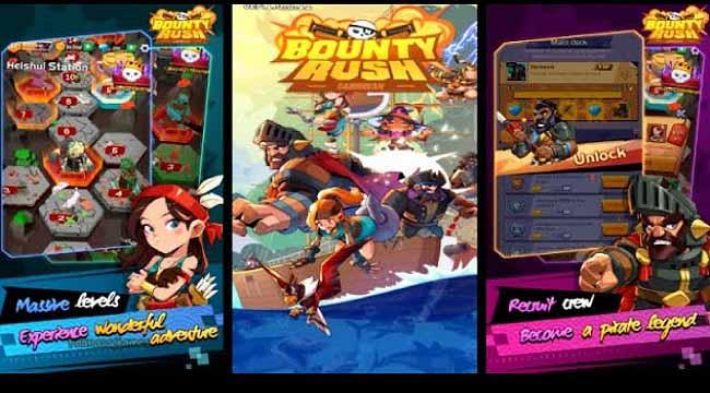 Bounty Rush : Caribbean – Trở thành bất cứ ai trong thế giới cướp biển huyền thoại