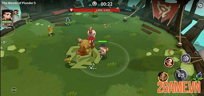 Raid Masters Online - Game mobile đơn giản để giải trí cùng bạn bè 3