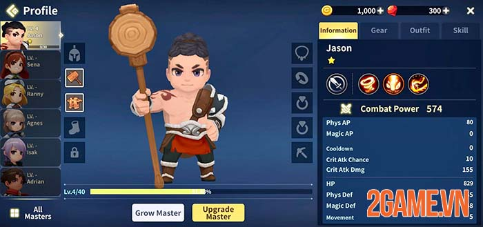 Raid Masters Online - Game mobile đơn giản để giải trí cùng bạn bè 4