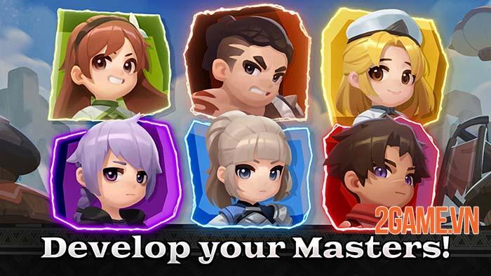 Raid Masters Online - Game mobile đơn giản để giải trí cùng bạn bè 1