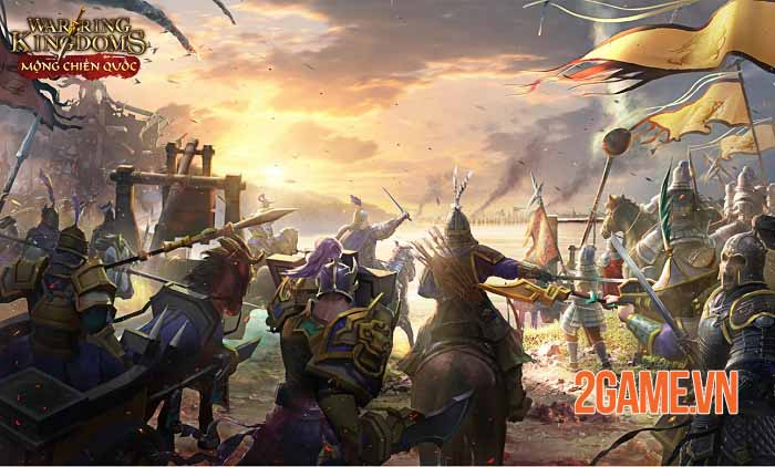Mộng Chiến Quốc - Game SLG đỉnh cao ấn định ngày ra mắt chính thức 7