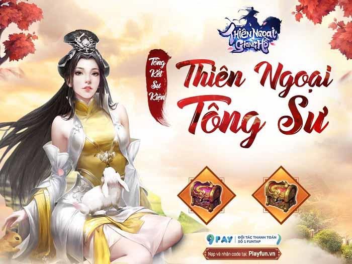 Game thủ Thiên Ngoại Giang Hồ luôn dõi theo sự kiện đua top môn phái Thiên Ngoại Tông Sư 1