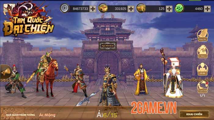 Tam Quốc Đại Chiến Mobile - Game thẻ tướng thế hệ mới hẹn ra mắt tháng 6 1