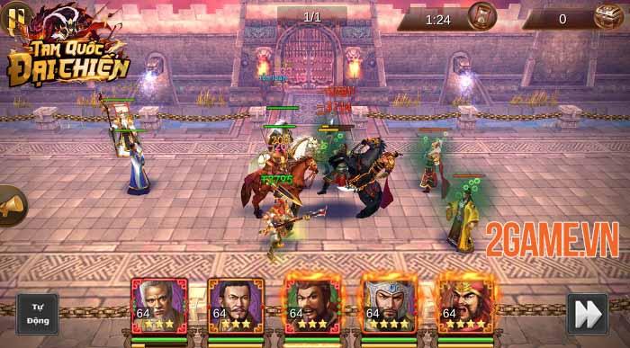 Tam Quốc Đại Chiến Mobile - Game thẻ tướng thế hệ mới hẹn ra mắt tháng 6 2