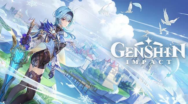 Genshin Impact chính thức ra mắt trên nền tảng Epic Games Store