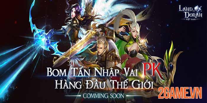 Land of Doran Mobile - Bom tấn nhập vai PK hàng đầu sắp ra mắt tại Việt Nam 3