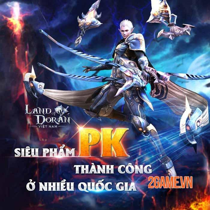 Land of Doran Mobile - Bom tấn nhập vai PK hàng đầu sắp ra mắt tại Việt Nam 2