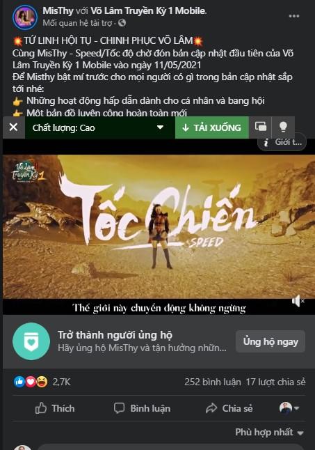 Võ Lâm Truyền Kỳ 1 Mobile: Bí ẩn đằng sau TVC Tứ Linh Hội Tụ 1