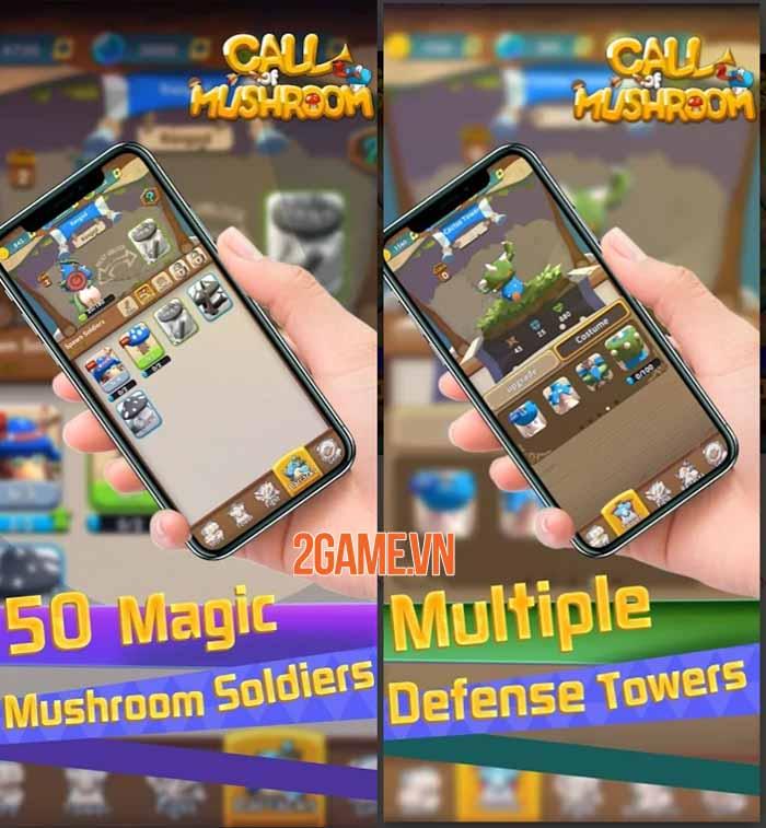 Call of Mushroom - Game chiến thuật thời gian thực điều khiển quân đoàn nấm 0