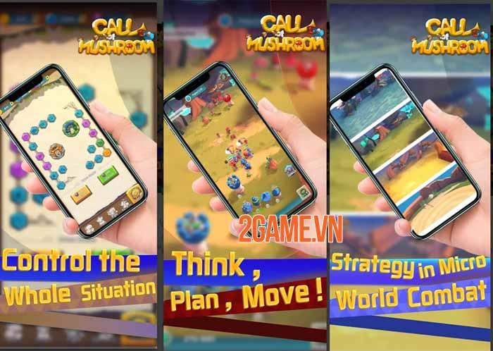Call of Mushroom - Game chiến thuật thời gian thực điều khiển quân đoàn nấm 1