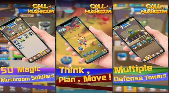 Call of Mushroom – Game chiến thuật thời gian thực điều khiển quân đoàn nấm