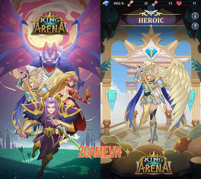 King of Arena - Game nhập vai nhàn rỗi giả tưởng với nhiều điểm độc đáo 0